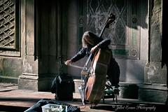 Double Bass Player #2 (juliet22) Tags: street musician newyork centralpark doublebass