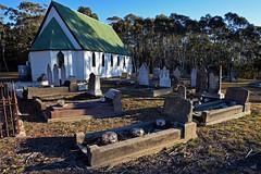Immortelles (Merryjack) Tags: church cemetery catholic headstones graves stmarys immortelles kirkconnel