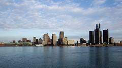 Goodbye Detroit #Detroit #DetroitRiver #Skyline #City #River #Sky #Morning #Traveling #Traveler #FromCanada #GoodbyeDetroitHelloToronto (kallyone) Tags: city morning sky skyline river detroit traveling detroitriver traveler fromcanada