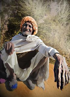 L'Homme aux grandes mains India