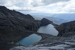 Laguna Churup (*Andrea B) Tags: park winter mountain lake mountains peru southamerica america december hiking south peak hike blanca alpine national andes laguna cordillera scramble andean huaraz 2014 ancash cordillerablanca churup lagunachurup winter2014 december2014