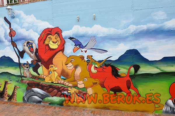 The world 39 s best photos of berok and graffiti flickr - Murales infantiles ...