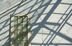 Windows Light (JeffStewartPhotos) Tags: door windows light sunlight ontario canada shadows bright angles sunny greenhouse parkwood oshawa unhinged parkwoodestate offitshinges