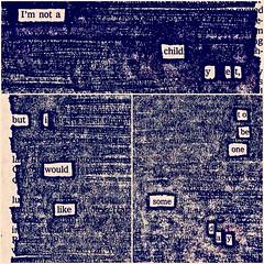 Some day #newspaperblackout #blackoutpoetry (Austin Kleon) Tags: square nashville squareformat iphoneography instagramapp uploaded:by=instagram