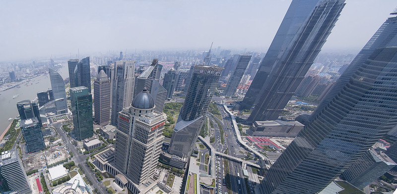 """Shanghai panorama • <a style=""""font-size:0.8em;"""" href=""""http://www.flickr.com/photos/28211982@N07/16438665807/"""" target=""""_blank"""">View on Flickr</a>"""