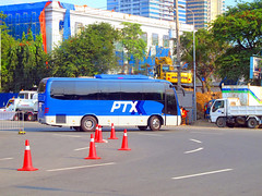 PTX Executive Bus (Irvine Kinea) Tags: ocean park new travel school bus buses field saint hope flying coach student university deluxe tiger north first christian institute marks teacher adventure arena management transportation transit era manila land trips passenger excursions tours executive pupil grandstand luzon liner philippine ncr quirino ptx