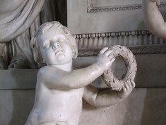 boy with a garland (Simon_K) Tags: church churches cambridgeshire eastanglia wimpole cambs