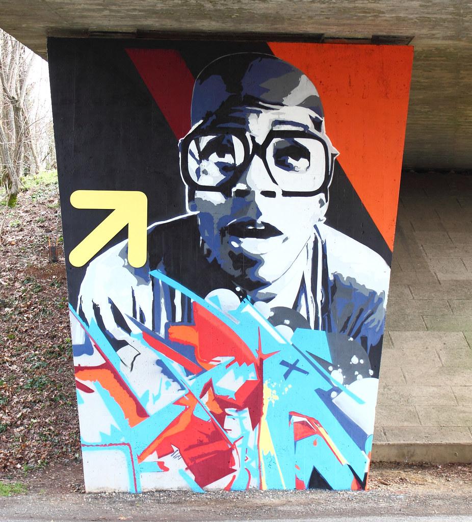 Graff (ID Number THX 1139) Tags: Street Streetart France Art Wall Graffiti  Frankreich