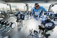 Laboratoire d'optique applique (LOA) (ecolepolytechniqueups) Tags: photo universit ecole polytechnique cnrs jrmy ensta barande parissaclay laboratoiredoptiqueappliqueloaumrunitmixtedere