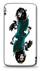 "HTC One X (S720e) ""Queen of spades"" (plurtic79) Tags: htc htcone htconex  htconexs720equeenofspades"
