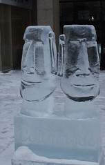 Icefest 28 (codie_horse) Tags: toronto statues talent wintertime yorkville icecarving frozenintime 2015 ancientegyptian blooryorkville 10thyear madeofice 10thannualicefest icefest15 bloorandyorkville
