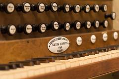 Organ keyboard (Francesco CescoP Pradella) Tags: wood color church keyboard organ sound past