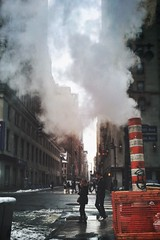 Dragon's breath, New York City