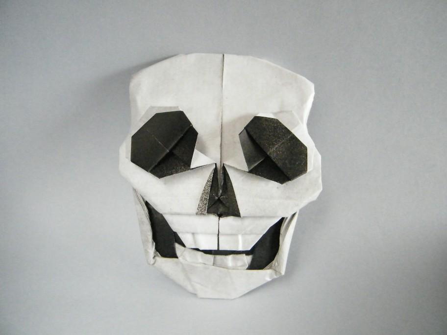 origami skull 28 images origami skulls and skeletons