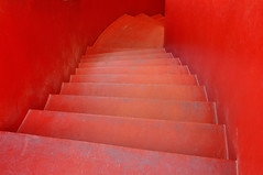 deepest (_ta'_) Tags: red stairs steps deep