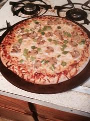 Mushroom & pepper pizza (bnichnadowicz) Tags: pepper pizza boboli mushrom