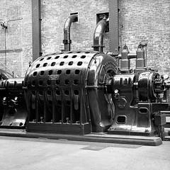 Carolina Port (Dundee City Archives) Tags: old olddundeephotos dundee photos carolinaport power station coal fired electricity generation 1900s stannergate turbine hall dickkerrcompanyltd ac generator