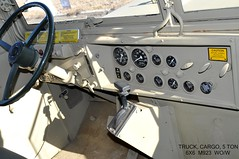 (1983)  Truck, Cargo, 5 Ton, 6 X 6, M923, Without Winch (Wing attack Plan R) Tags: interior 1983 2015 5tontruck amgeneral militarytruck m923