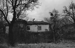 abandoned house (Clarisse McClelln) Tags: bw house abandoned home blackwhite nikon village place desert country 100v10f bulgaria bov d3100