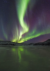 Norway (peterspencer49) Tags: nightphotography reflection norway reflections arctic aurora northernlights arcticcircle tromso nordlys aurorasborealis peterspencer peterspencer49