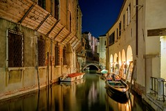 Simply Venice at night (adrian86s) Tags: venice night canal exposure reflaction