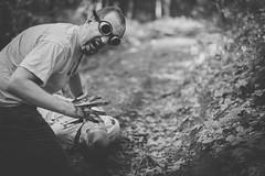 Forest of the Dead (sfp - sebastian fischer photography) Tags: horror portrait twinturbo zombie zombies zwillinge twins blood gore creepy vsco