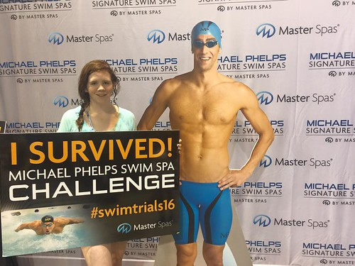 Michael Phelps Swim Spa Challenge