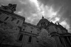 St. Paul's Cathedral, London (Digital Biology) Tags: pauls cathedral infrared