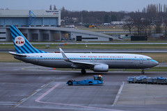 PH-BXA, Amsterdam Schiphol, January 26th 2015 (Suburban_Jogger) Tags: travel winter public plane canon airplane airport ramp taxi aircraft transport jet january thenetherlands twin aeroplane apron vehicle passenger boeing klm ams 100400mm airliner jetplane eham 2015 royaldutchairlines amsterdamschiphol retrojet cfm56 60d cfmi cfminternational 7378k2 phbxa narrowbody msn29131 ln198
