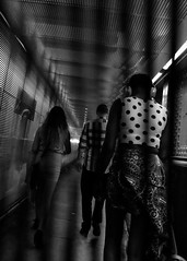 Tunnel vision (BeyondThePrism) Tags: blackandwhite blackwhite fuji fujifilm x70 fujix70 city citycentre downtown street streetphotography streetside streets peo people candid bw noiretblanc noir classic classiclook filmsimulation filmeffects grain granular grainy moment life stranger strangers wwwbeyondtheprismcom beyondtheprism beyond prism castonguay jpcastonguay jeanphilippecastonguay pov portrait afternoon angle digital film rugged gritty greenery highlight light lights lighting clarity
