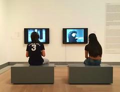 At Modern Art museum in Stockholm (lea3001) Tags: art museum children sweden stockholm