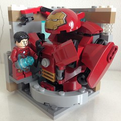 Schweinsteiger The Captain (bricksigit) Tags: lego minifigure habitat moc vignette marvel ironman hulkbuster germany football