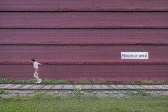 victoria (Trevor Pritchard) Tags: hepburn saskatchewan museum wheat july 2016 people victoria grain elevator tracks rural