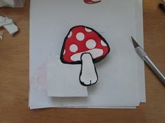 Mushroom cane - in progress (Creative Art Center) Tags: mushrooms cogumelo