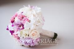 buchet mireasa cu bujori lila (IssaEvents) Tags: buchet mireasa din hortensia alba valcea bucuresti slatina issaevents issamariage