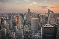 New York City (phlickrron) Tags: nyc newyorkcity cityscyape newyork city sunset skyline downtown manhattan