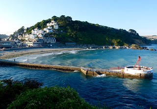 Looe Beach seen from Hannafore Point