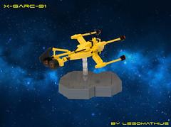02_X-GARC-01 (LegoMathijs) Tags: lego legomathijs moc space scifi foitsop garc microscale xgarc01 yellow galaxy rock race lasers