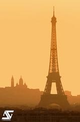Bonjour Paris (A.G. Photographe) Tags: anto antoxiii xiii ag agphotographe paris parisien parisian france french français europe capitale toureiffel eiffeltower sacrécoeur montmartre sunrise nikon d810 150600 sigma