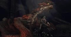 """Dragonborn."" (Part 2) ( ) Tags: secondlife skyrim dragon adventure shire dragonborn hero games secondlife:region=theshire secondlife:parcel=theshireahomelysliceofmiddleearth secondlife:x=109 secondlife:y=101 secondlife:z=27"