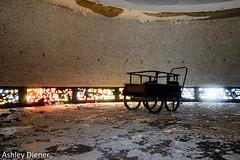 Buggy (ashleydiener) Tags: abandoned abandonedbuilding abandonedhospital hospital stainedglass