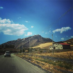 Agira is up there on the peak of the hill. Birthplace of @drrosannewelch grandparents #Agira #Italy #Sicily #travel #family (dewelch) Tags: ifttt instagram agira is up there peak hill birthplace drrosannewelch grandparents italy sicily travel family