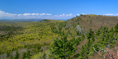 Escarpment West (dcclark) Tags: up upperpeninsula michigan coppercountry porcupinemountains wilderness statepark landscape lafayette miscowabic peak rugged terrain scenic outdoor spring hiking