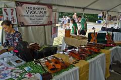 Hesketh Violins (ramseybuckeye) Tags: dublin irish festival ohio scottish hesketh violins ryan maker seller dublinirishfestival fiddle violin stinged instrument bow pentax art life