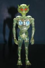 Invader O (Takara 1970's) (Donald Deveau) Tags: takara invadero alien toy vintagetoy actionfigure henshincyborg japanesetoy kaiju sciencefiction