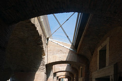 Trajan's Market gallery light