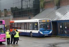 Painted plain (bobsmithgl100) Tags: man bus surrey alexander dennis guildford hbp 14240 39653 enviro200 friarybusstation route200 gx08 gx08hbp stagecoachhantssurrey