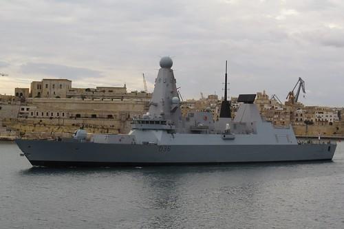 HMS DEFENDER - D36