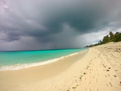(561jaclyn) Tags: ocean blue sea storm beach beautiful rain landscape island sand paradise waves sandy atlantis bahamas gopro goprooftheday goprophotooftheday