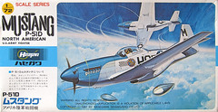 Hasegawa P-51D (scobot) Tags: fighter aircraft boxart 172 hasegawa p51 modelkit usaaf